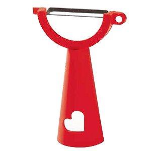 Tupperware Descascador Vermelho Lâmina 5cm