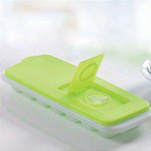 Tupperware Forma de Gelo Verde Neon Limão 14 cubos