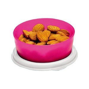 Tupperware Mini Snack Cup 70ml Rosa Neon