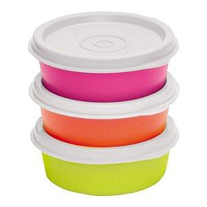 Tupperware Mini Snack Cup 70ml kit 3 Peças