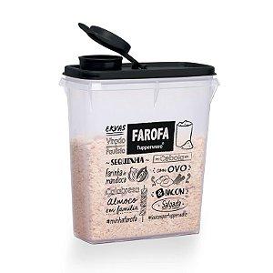 Tupperware Porta Farofa PB 850ml