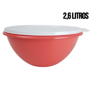 Tupperware Tigela Maravilhosa 2,6 litros Laranja