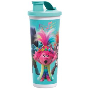 Tupperware Copo com Bico Trolls 470ml