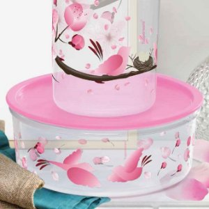 Tupperware Delicatesse 1,75 Litros Florida Rosa