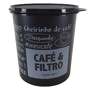 Tupperware Caixa Café & Filtro PB