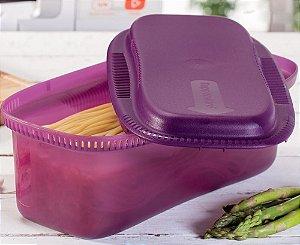 Tupperware Instant Massa Microondas 1,9 litro Roxo
