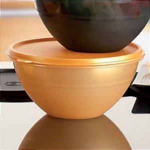 Tupperware Tigela Maravilhosa Gold 1 litro Dourada