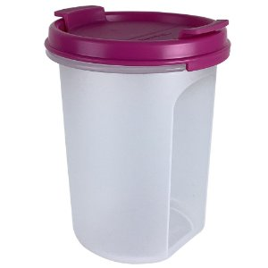 Tupperware Modular Redondo Dispenser 440ml Rosa