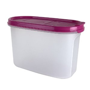 Tupperware Modular Oval Dispenser 1,1 Litro Rosa