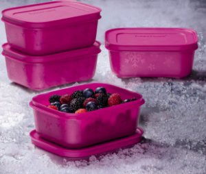 Tupperware Freezer Line Açaí 450ml kit 4 Peças