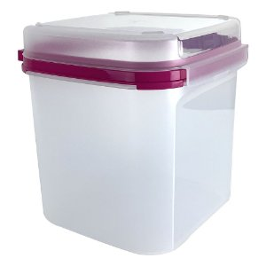 Tupperware Modular Quadrado Plus 4 Litros Rosa