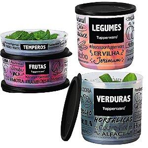 Tupperware Refri Lines PB Kit 4 Peças