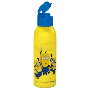 Garrafa Tupperware Eco Tupper Redonda Plus Minions 750ml