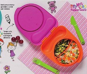 Tupperware Pratinho Infantil Rosa 500ml