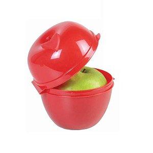 Tupperware Porta Maçã Vermelha