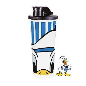 Tupperware Copo Donald Vintage Azul e Branco 470 ml
