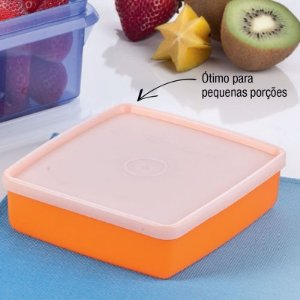 Tupperware Refri Box 400 ml Laranja
