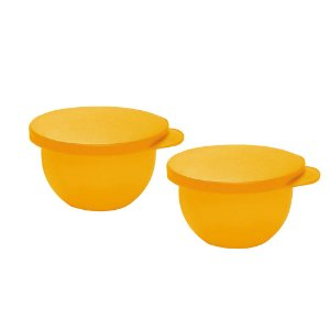 Tupperware Tigela Murano 200ml Amarelo kit 2 Peças