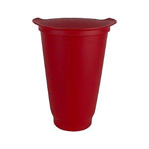 Tupperware Copo Allegra 450ml Vermelho