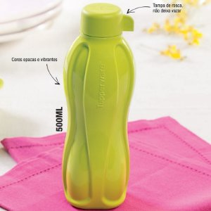 Tupperware Eco Tupper Garrafa 500ml Margarita Verde Opaca