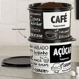Tupperware Caixa Café + Açúcar PB Fun