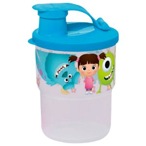 Tupperware Copo Colors com Bico Monstros S.A. 225ml