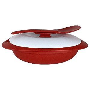 Tupperware Travessa Mágica 1,1 Litro Vermelha