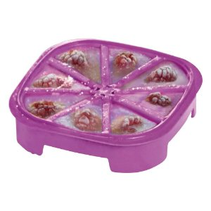 Tupperware Forma de Gelo Triangular Roxa