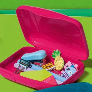Tupperware Visual Box Estojo Rubi
