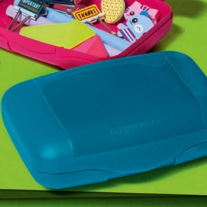Tupperware Visual Box Estojo Turmalina