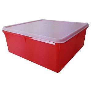 Tupperware Super Caixa 10 litros Vermelho