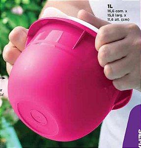 Tupperware Tigela Batedeira 1 litro Rosa Pink