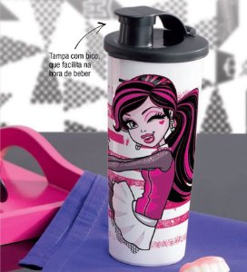 Tupperware Copo Monster High 470 ml