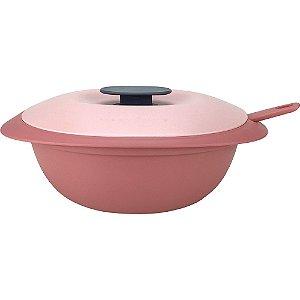Tupperware Sopeira Mágica com Concha 1,8 Litro Rosa Claro