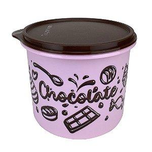 Tupperware Caixa Loucos por Chocolate 1,7 Litro Rosa