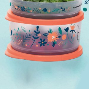 Tupperware Refri Line Redondo Floral Fresh 530ml