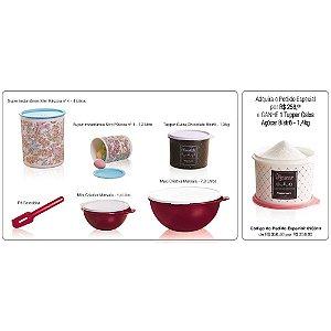 Tupperware Kit Especial Páscoa 6 peças + Caixa Açúcar Bistrô 1,4kg Grátis