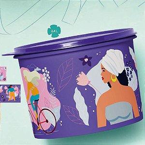 Tupperware Caixa Mulheres 2,4 Litros Roxo