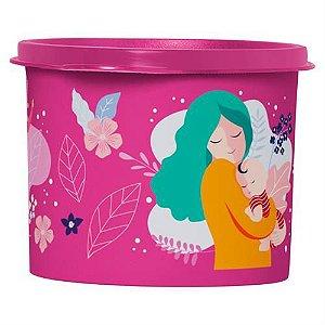 Tupperware Redondinha Mulheres 500ml Rosa