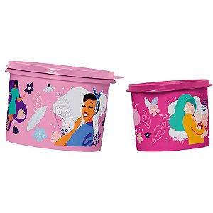 Tupperware Caixa Mulheres Kit 2 Peças