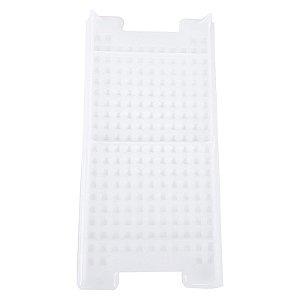 Grade Super Caixa Branco Translúcido