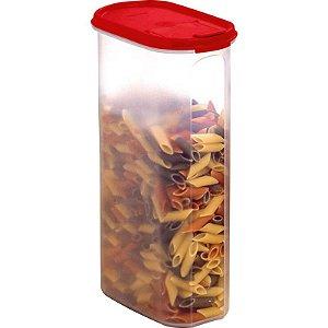 Tupperware Modular Oval Dispenser 5 2,9 litros Vermelho