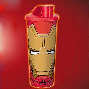Tupperware Copo Homem de Ferro 470ml Vermelho