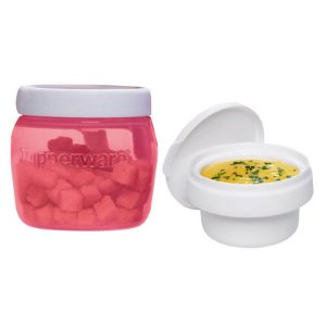 Tupperware Universal Jar 325ml + Tampa para Molhos 118ml Kit 2 Peças