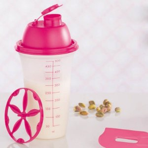 Tupperware Quick Shake 500ml Rosa