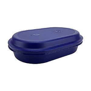 Tupperware Travessa Oval Actualité 2 litros Azul Noite