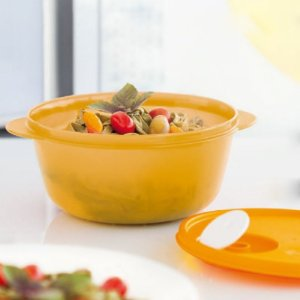 Tupperware Cristalwave 1,5 litro Amarelo Papaya