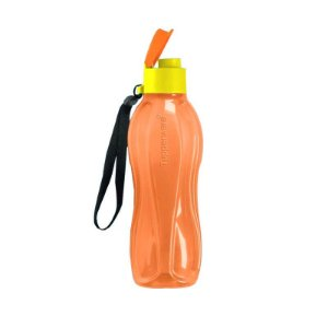 Garrafa Tupperware Eco Tupper Plus Laranja 500ml