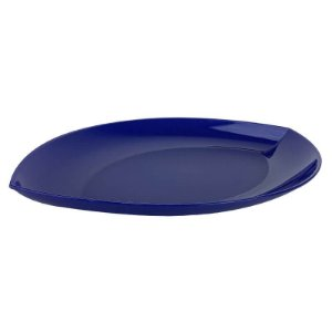 Tupperware Travessa Lótus Azul Noite Grande