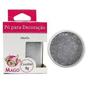 PÓ PARA DECORAÇÃO PRATA - MAGO - 1 UNIDADE